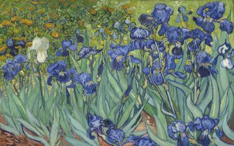 Irises, 1889. Found in the collection of J. Paul Getty Museum, Los Angeles. Artist :  Gogh, Vincent, van (1853-1890). (Photo by Fine Art Images/Heritage Images/Getty Images)