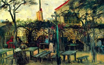 Terrace of a Cafe, 1880. By Vincent Van Gogh. (Photo by Buyenlarge/Getty Images)