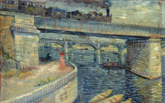 Les Ponts d'Asnières, 1887. Found in the Collection of Foundation E. G. Bührle Collection, Zurich.