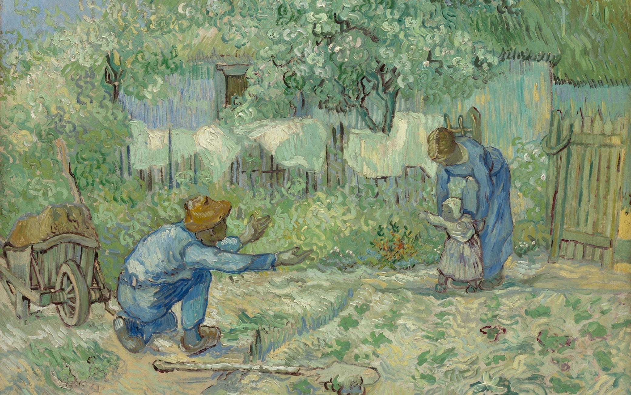 """""""First Steps"""" di Van Gogh del 1890"""