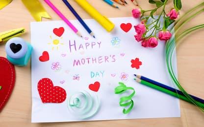 Lavoretti per la festa della mamma: 10 idee facili per i bambini