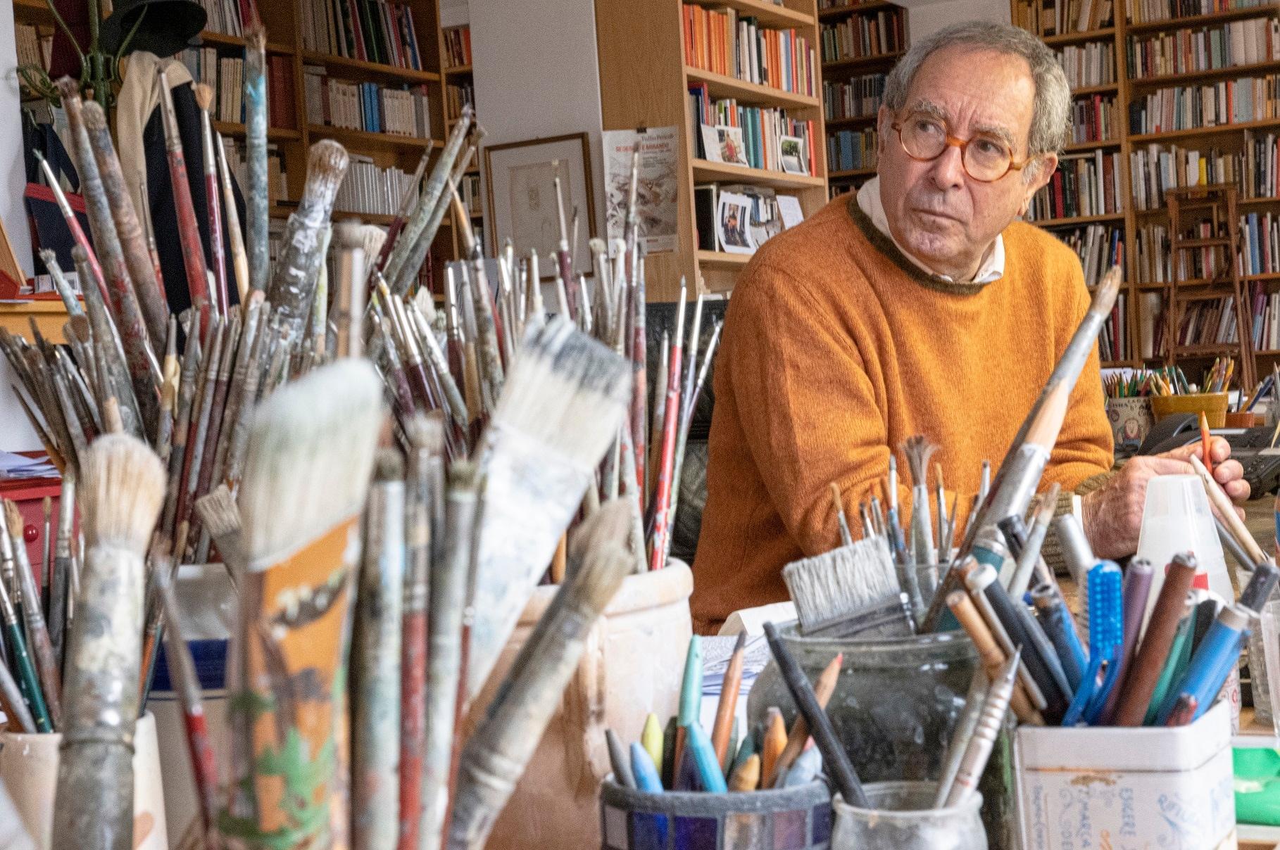 Tullio Pericoli (foto di Francesca Savastano)