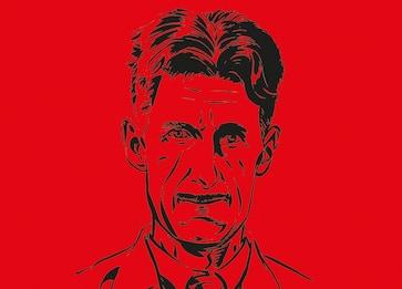 Dandy, patriota, visionario: la vita di Orwell diventa un fumetto