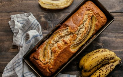 Banana Day, la ricetta per un banana bread light e vegano