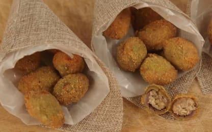Olive all'ascolana: la ricetta per prepararle a casa