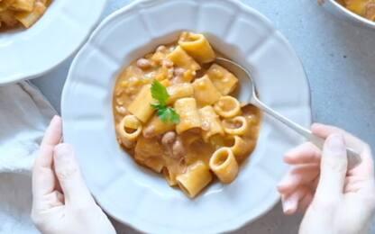 Pasta e fagioli: la ricetta per prepararla a casa
