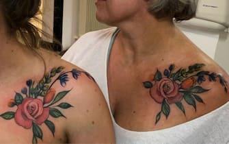 tatuaggio mamma figlia