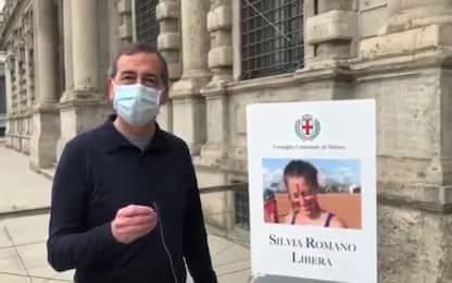 """Milano, Sala: """"Silvia Romano libera e ora verità per Giulio Regeni"""""""