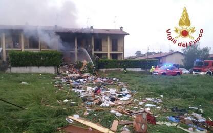 Esplosione in una villetta nel Comasco: morto un ventunenne