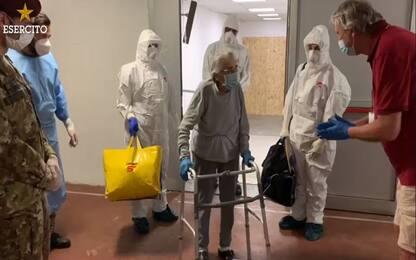 Coronavirus Milano, guarita a 91 anni nell'ospedale militare