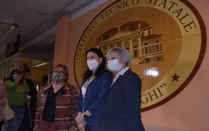 """Maturità, Azzolina a Bergamo: """"Esami in presenza non erano scontati"""""""