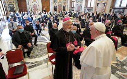 """Papa riceve medici e infermieri lombardi: """"Voi siete colonne portanti"""""""