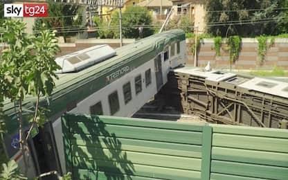 """Carnate, deraglia treno: 3 feriti. Trenord: """"Senza personale"""". VIDEO"""