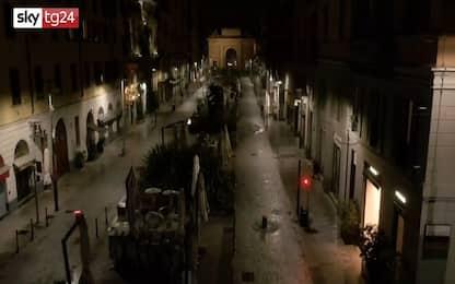 Covid Milano, le immagini nella prima notte di chiusura. VIDEO