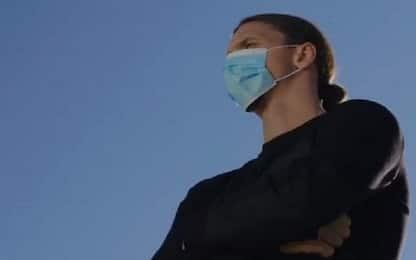 """Covid Lombardia, Ibrahimovic: """"Non siete Zlatan, non sfidate virus"""""""