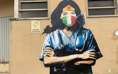 A Codogno nuovo sfregio su manifesto simbolo dell'emergenza Covid