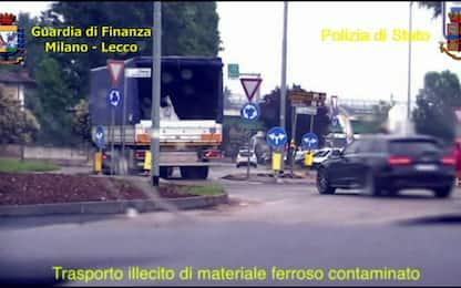 Traffico illecito di rifiuti, 18 arresti tra Milano e Lecco