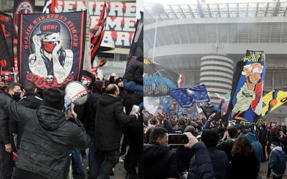 Covid Milano, assembramenti per il derby: sanzionati i primi tifosi