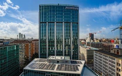 Milano, quasi ultimata la nuova torre Accenture in Porta Nuova