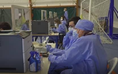 Covid Lombardia, a Viggiù vaccinata tutta la popolazione. VIDEO