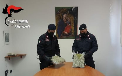 Scoperti con 2 chili di droga nell'auto: arrestati nel Milanese