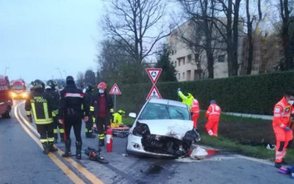 Incidente stradale ad Arcore, morto un 31enne
