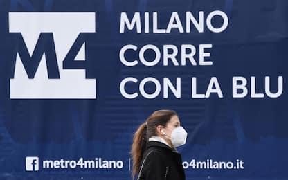 Milano, slitta di tre mesi l'apertura delle prime tratte della M4
