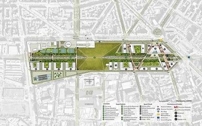 Milano, il progetto del villaggio Olimpico nell'ex scalo Porta Romana