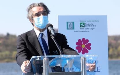 """Vaccino Covid in Lombardia, Fontana: """"Somministrate 2 milioni di dosi"""""""