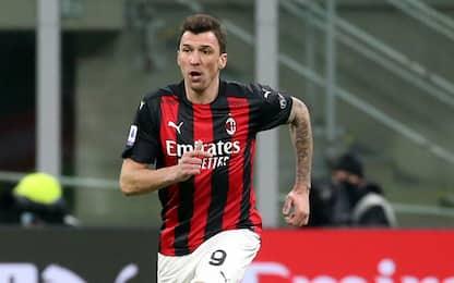 Milan, Mandzukic infortunato: rinuncia allo stipendio di marzo