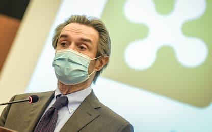 """Covid, Fontana: """"Sì di Figliuolo a ridistribuzione dosi AstraZeneca"""""""