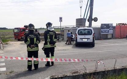 Pagazzano, incidente sul lavoro: operaio morto schiacciato da carico