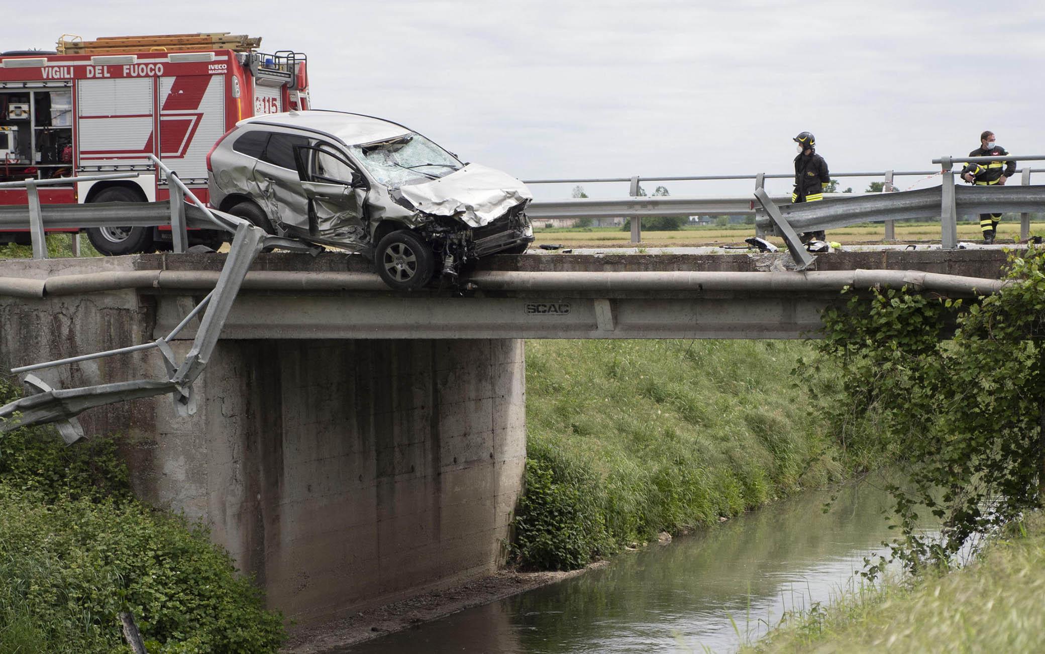 L'incidente a Cremona