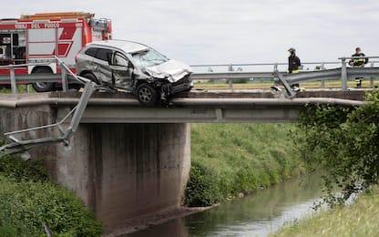 Incidente a Cremona, morti in uno scontro motociclisti padre e figlia
