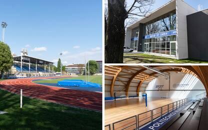 Milano, svelato il nuovo volto del Giuriati Sports Center