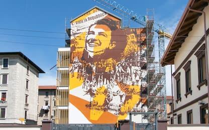 A Milano murales dedicato ad Anna Liberti, simbolo della Repubblica