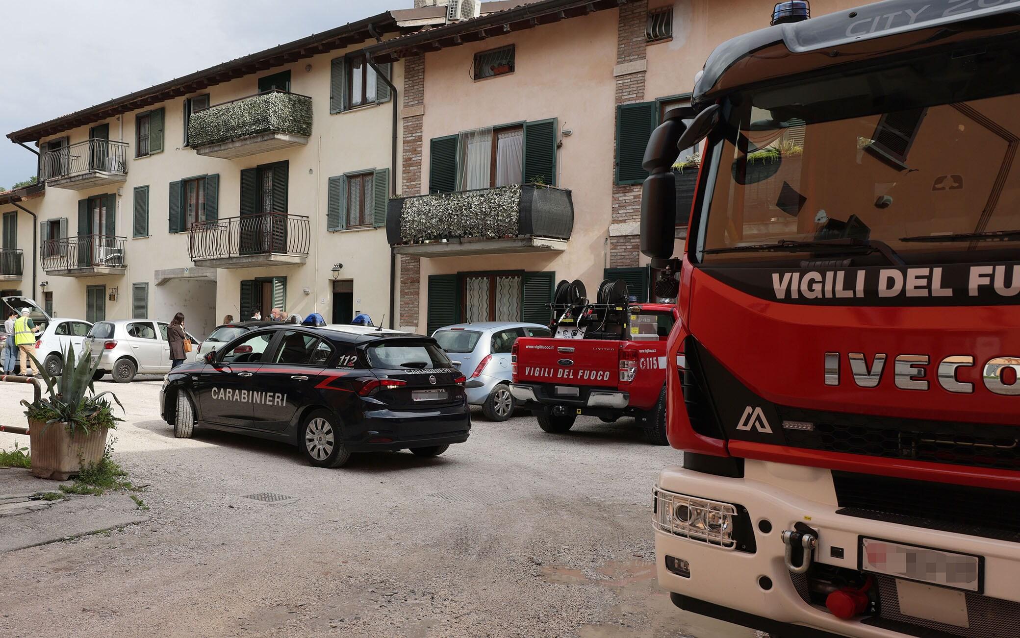 Brescia infortunio mortale a Nave, Brescia 7 giugno 2021.ANSA/FILIPPO VENEZIA