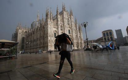 Milano, domani allerta gialla per rischio temporali intensi