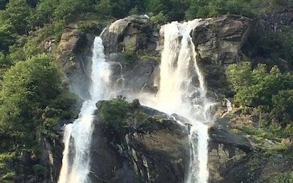 Cadono nelle cascate dell'Acquafraggia: un morto e un ferito grave