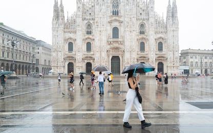 Maltempo: allerta gialla per forti temporali su Milano