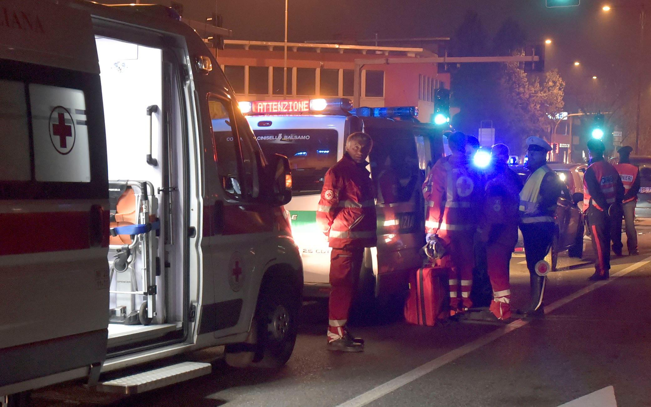 incidente stradale senago (foto di repertorio) - per edizione metropoli/pincioni - 18 luglio 2021 - foto spf/ansa