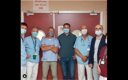 Como, Antonio Rossi dimesso dall'ospedale dopo il ricovero per infarto