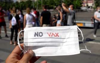 manifestazione no vax