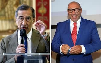 beppe sala e luca bernardo candidati sindaco milano