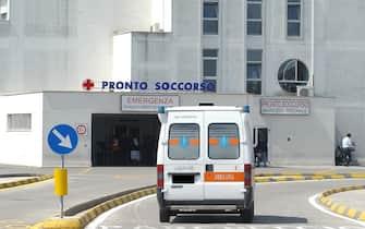 Il pronto soccorso dell'ospedale Perrino di Brindisi in una foto d'archivio. ANSA/ ROBERTA GRASSI