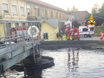 Castellanza, cade in una vasca di depurazione: morto 15enne