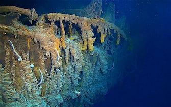 Relitto Titanic danneggiato