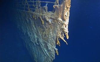 Relitto Titanic usurato