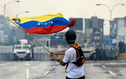 Venezuela, blackout elettrico a Caracas e in diverse regioni