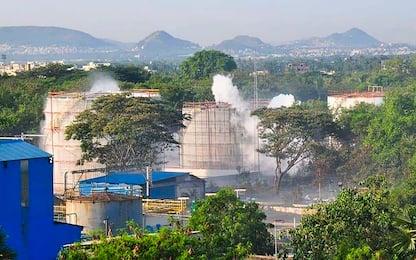 India, fuga di gas in impianto chimico: mille ricoverati in ospedale